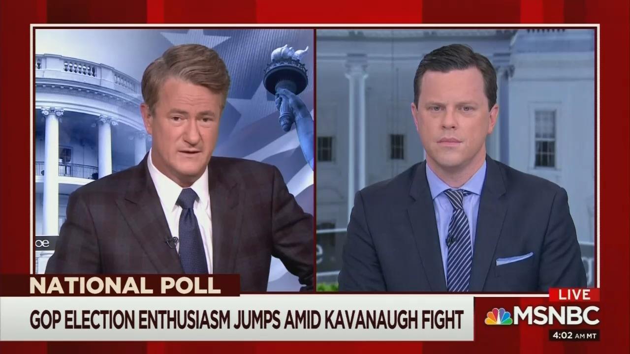 Even Morning Joe Sees Overreach, 'Media Bias' on Kavanaugh
