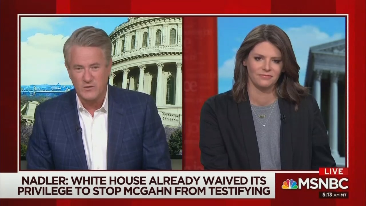 Even Morning Joe Talking Dems Down From Impeachment