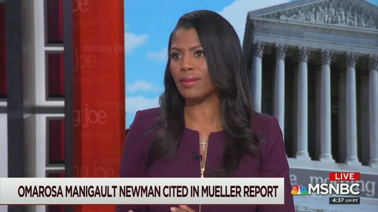 MSNBC Turns to Omarosa for Wild Speculation: 'Trump Is Hiding Something'