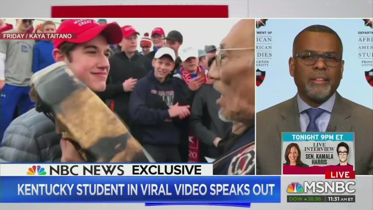 MSNBC Claims Anyone Wearing MAGA Hat Is Looking to Fight, Covington Kids Are Symbol of White Privilege