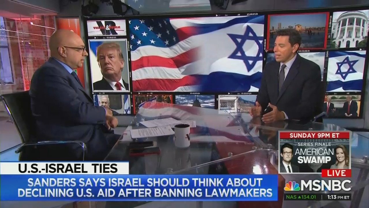 MSNBC's Ayman Mohyeldin Raises Eyebrows With Anti-Israel Talking Point