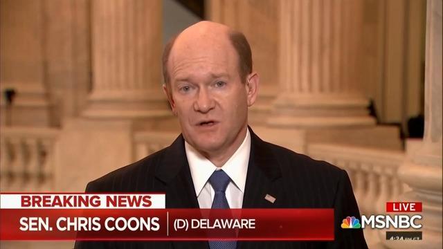 Dem Idea of Justice: Sen. Coons Says Kavanaugh 'Bears Burden of Disproving' Allegations