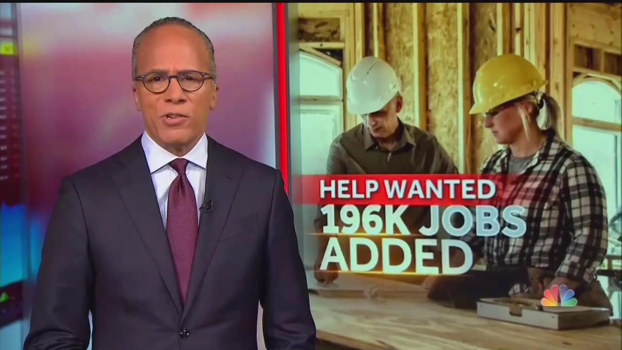 Evening News Skips March 196K Jobs Rebound, 3.8% Unemployment