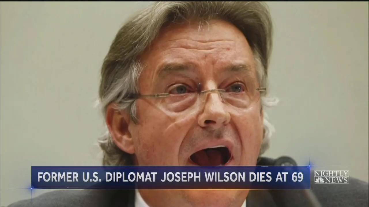 NY Times Hails Bush-Hating 'American Hero' Joseph Wilson in Obituary