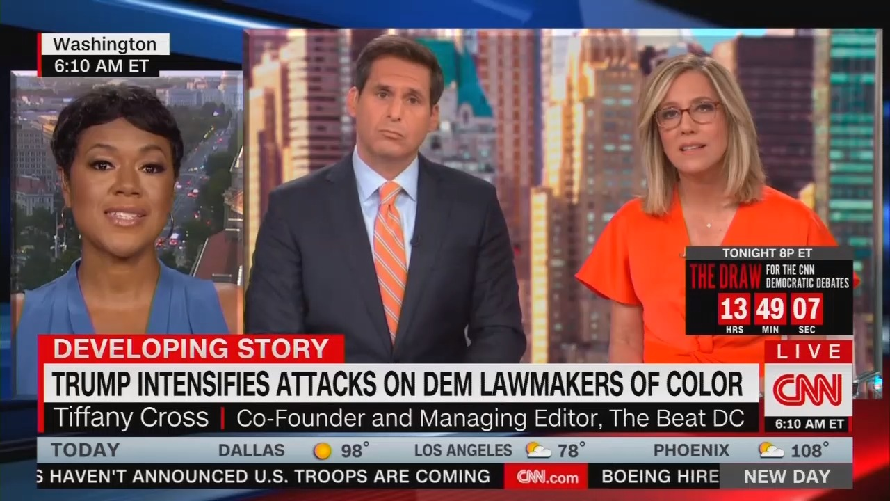 CNN Guest: Trump Supporters 'Fall In the Category of White Supremacy'