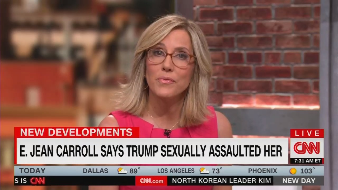 CNN's Camerota Touts Allegations Against Trump: 'Legally It Was Rape'