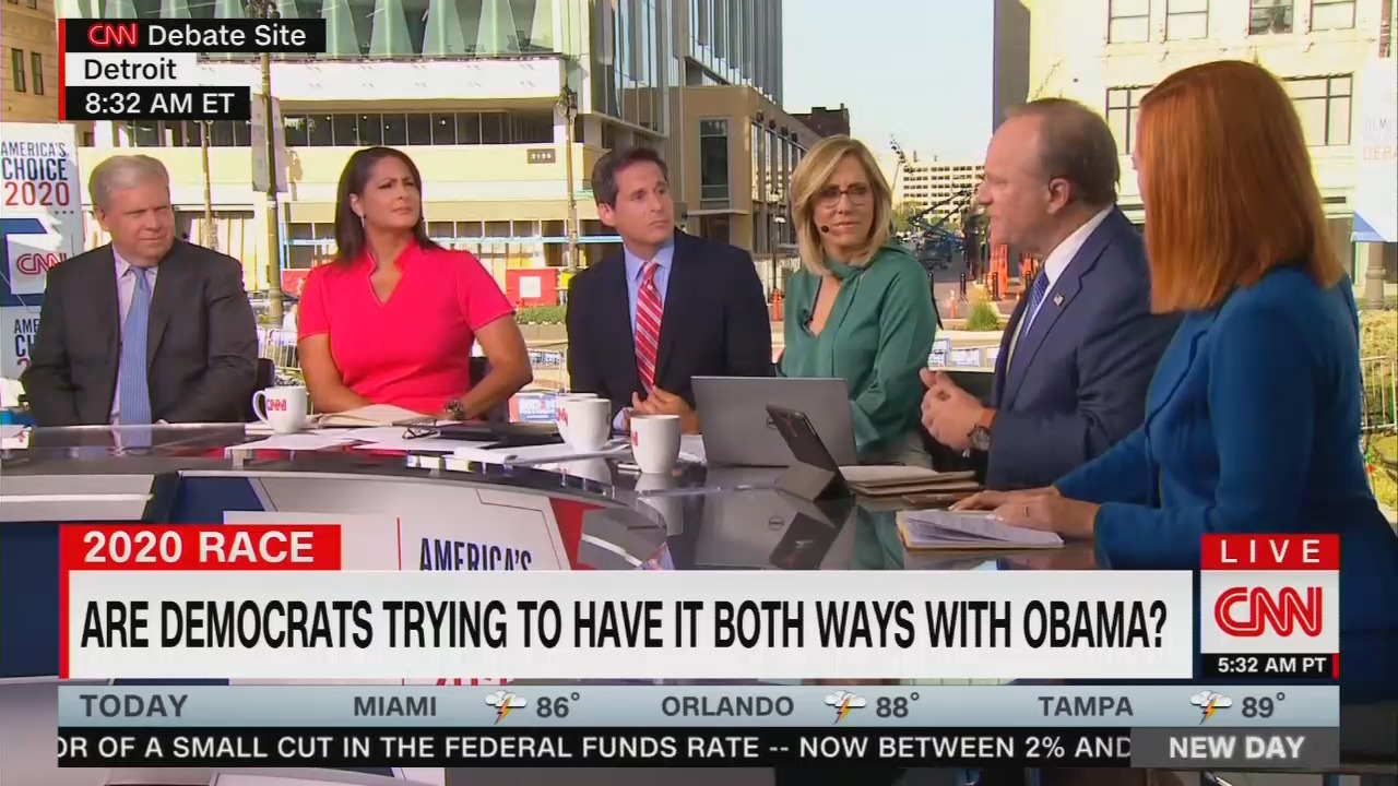 'What the Hell People?' CNN's Dem Panel Blasts Debate Attacks on Obama