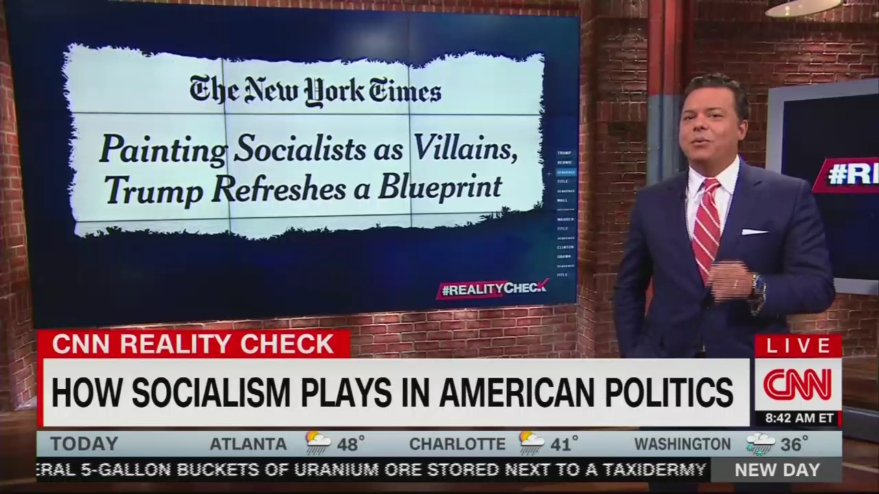 CNN 'Reality Check' Downplays Realities of Socialism, Complains It's Republican Fear-mongering