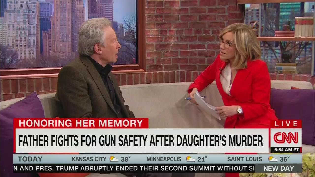CNN's Camerota 'Cheers On' Liberal Activist Who Describes Republicans as Gun Fanatics