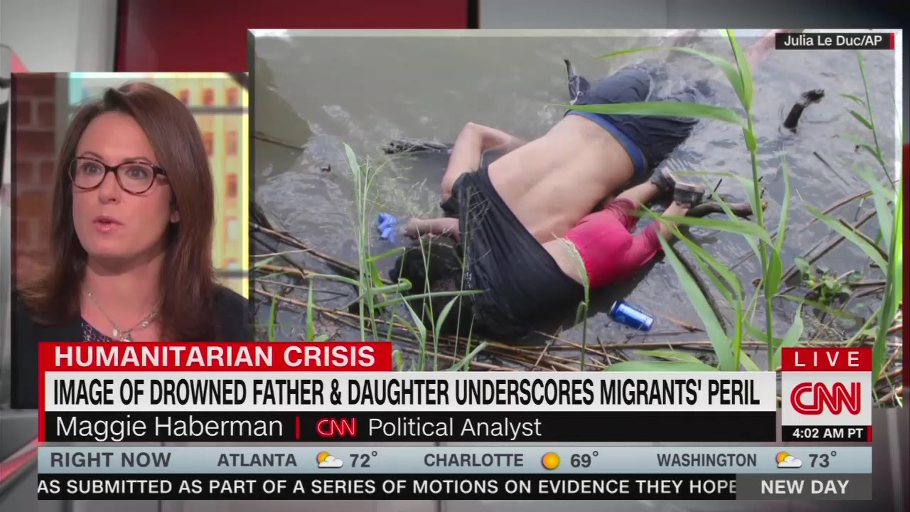 CNN Sneers: Trump Will Be 'Triggered' by Drowned Migrants, Blame Dems
