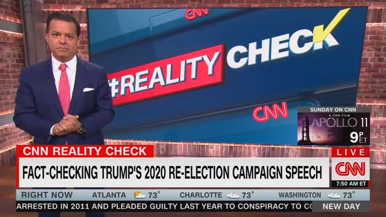 CNN: 'Fact-Free' Trump Rally Used to 'Deflect, Distract, and Divide'