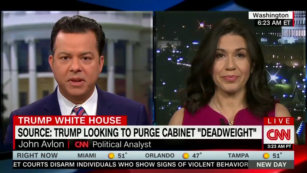 CNN's Avlon: It Is a 'Disgrace' to Fire McCabe 'Days Before Retirement' and Take Away His Pension