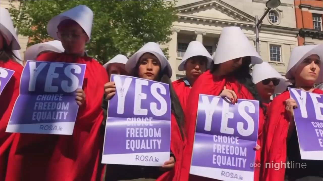 Nightline Hypes Handmaid's Tale as Expose of 'Right-Wing' Misogyny