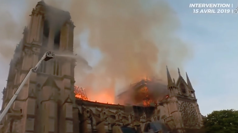 Rolling Stone: Notre Dame 'Burning Feels Like Act of Liberation'
