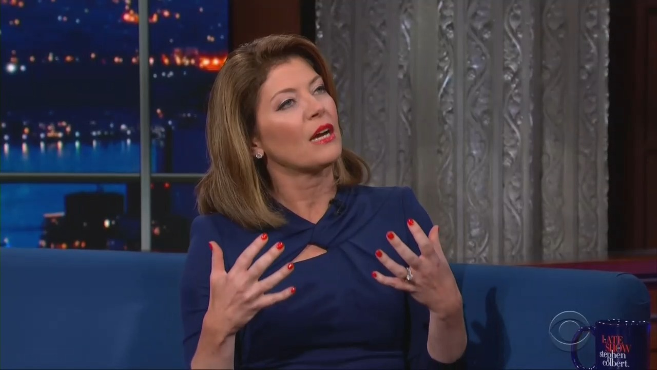 Self-Important Norah O'Donnell: Journalists 'Make Democracy Work'