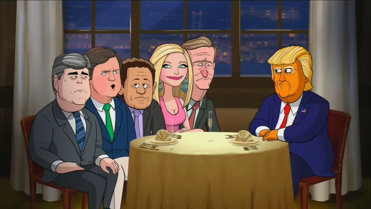 Colbert Animated Cartoon: Fox News Hosts Are 'Boot-Licking Garbage Slingers'