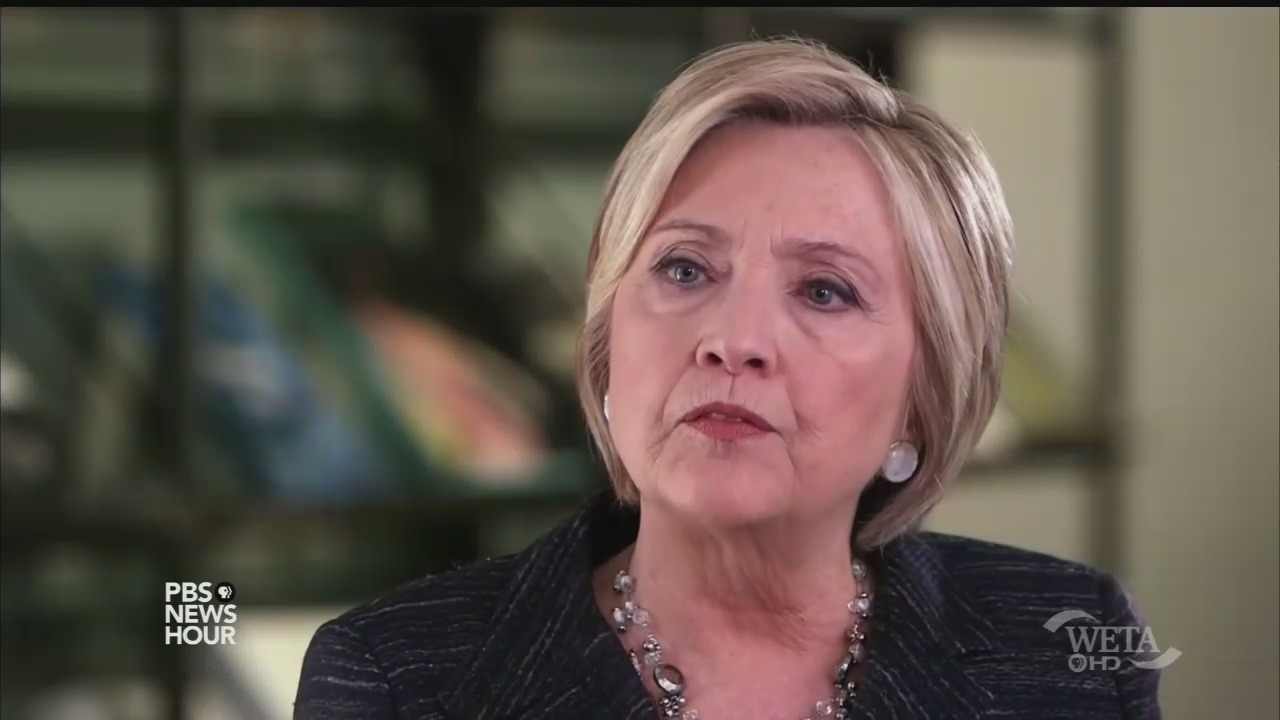 Hillary Clinton Tells NPR PBS There Was Wrong With Clinton-Lynch Secret Tarmac Meeting