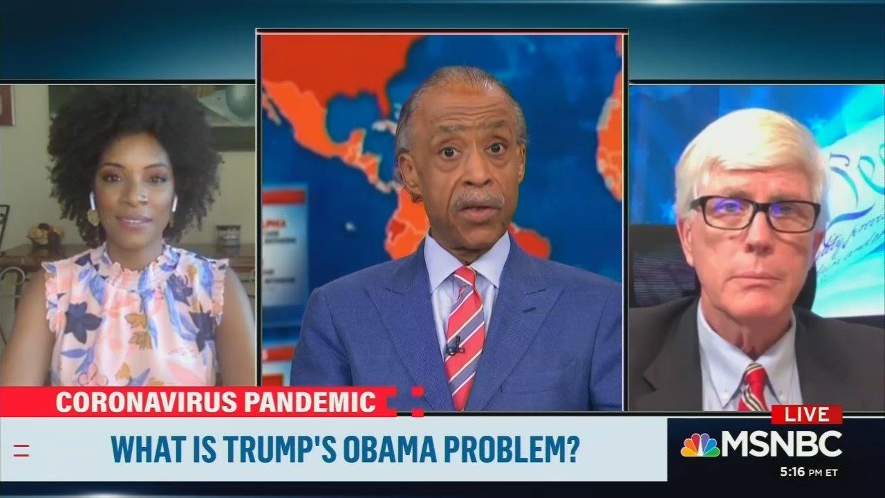 MSNBC's Zerlina Maxwell to Sharpton: Trump Raising 'Obamagate' Is 'The New Birtherism'