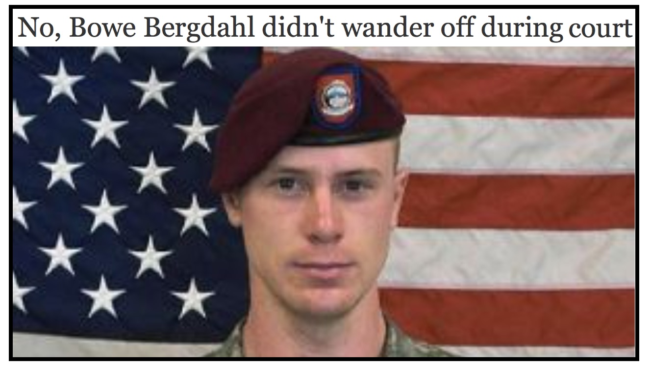 Fake Fact Check: Politifact Rates Obviously Satirical Bergdahl Entry 'Pants on Fire'