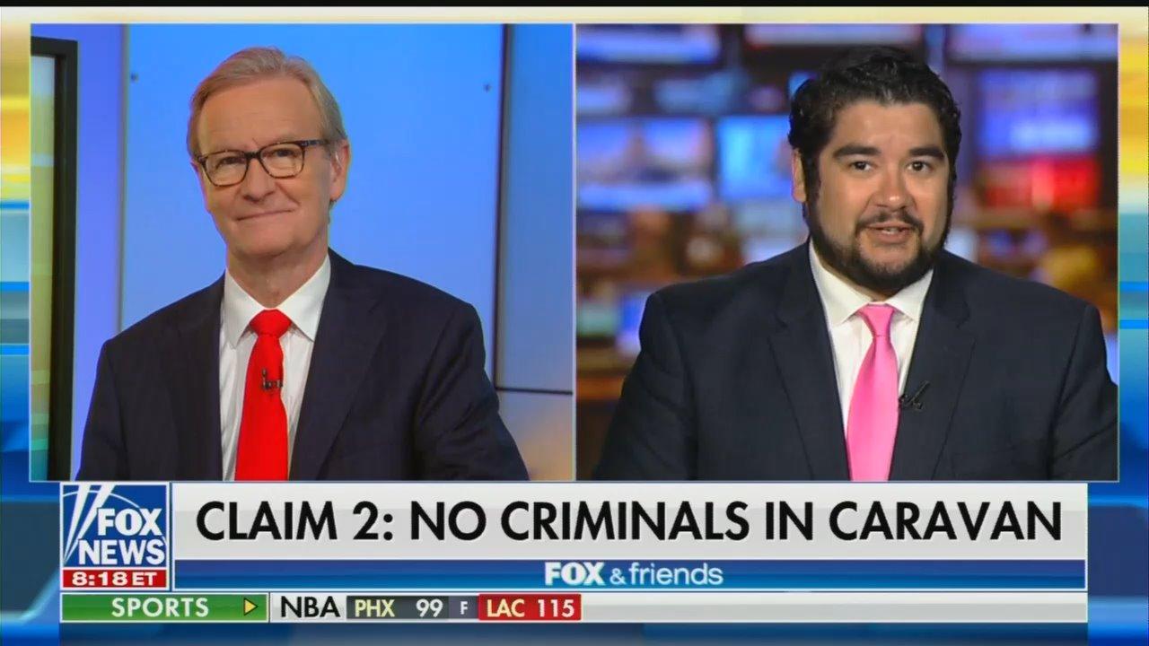 FNC Debunks Media Myths on Illegal Immigrant Caravan