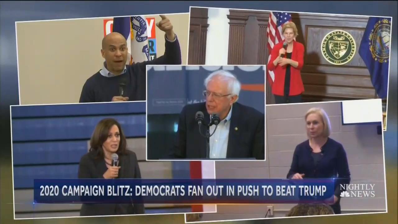 Study: TV News Hides Radicalism of 2020 Democratic Candidates