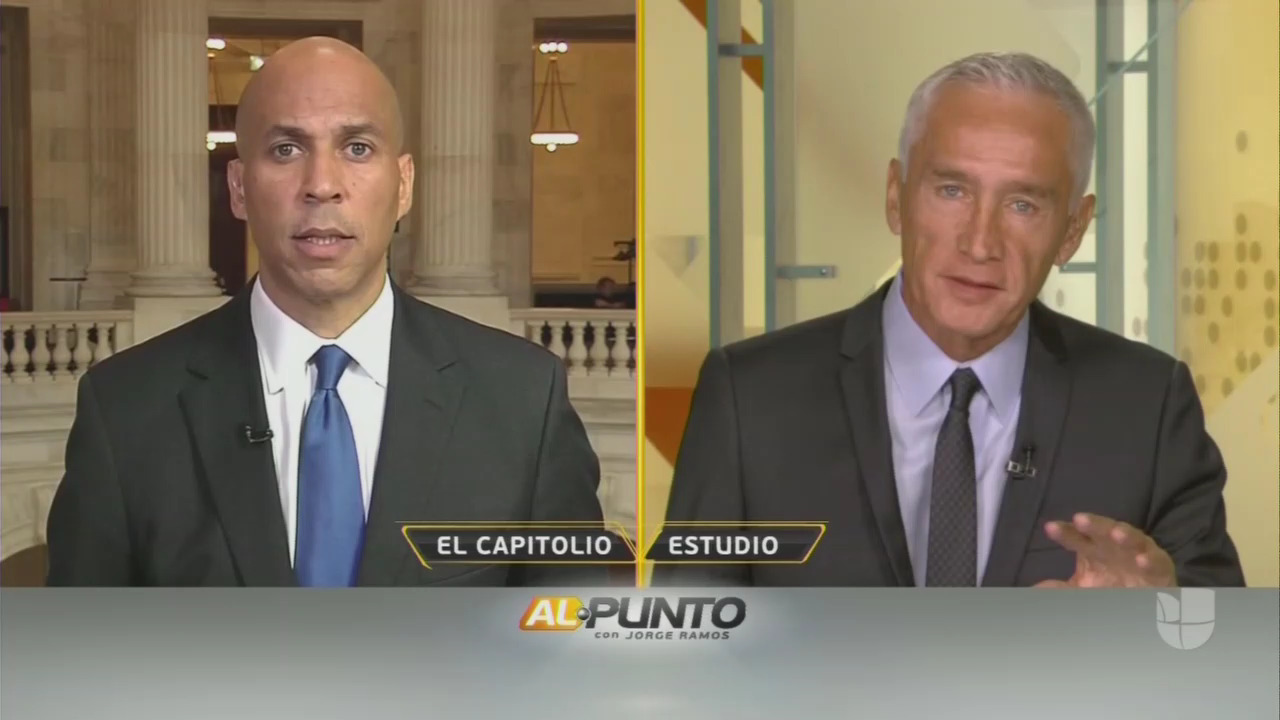 Cory Booker Admits Dems Have A 'Latino Problem'