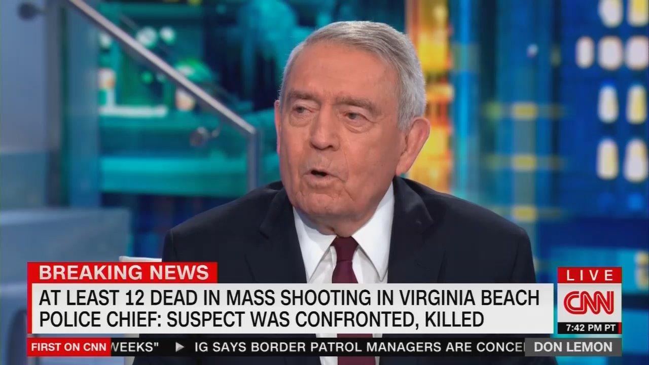 On CNN, Dan Rather Slams 'Gun Lobby,' Politicians 'Bought and Paid For'