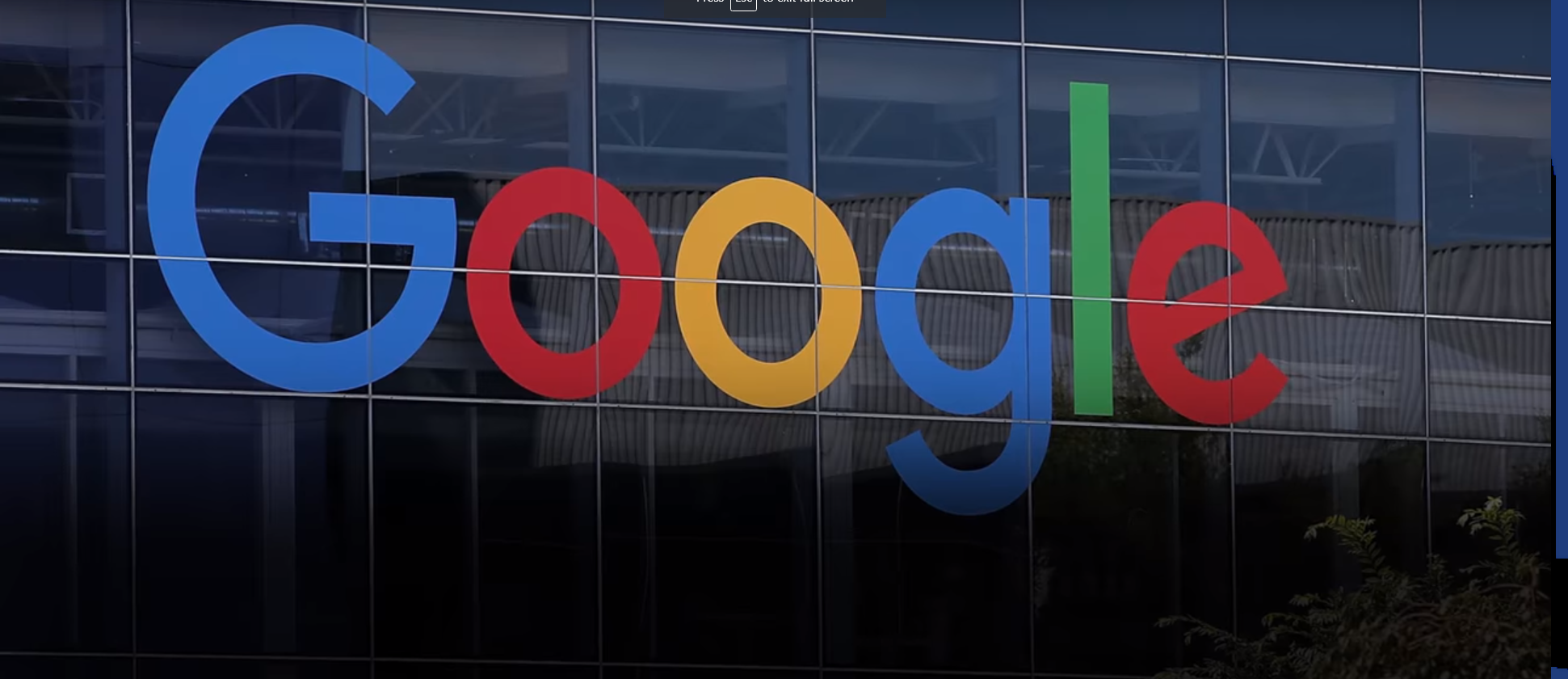 Google Employees Donate over $350K to Democrat Presidential Candidates