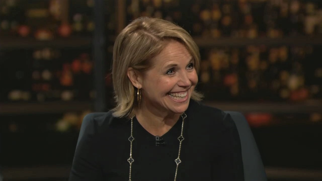 'So Amazing!' Katie Couric Gushes Over Bloomberg's Insults of Trump on Maher Show