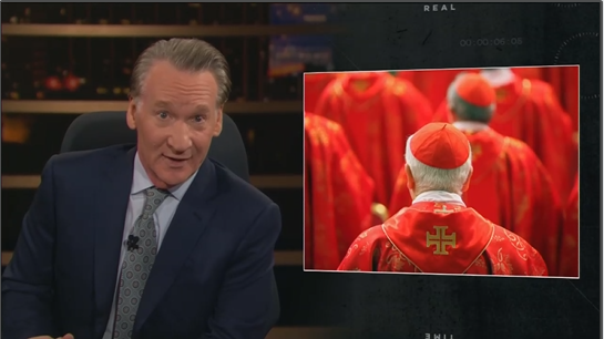 Maher Slams AG Barr as 'Creepy' Catholic 'Cult' Member