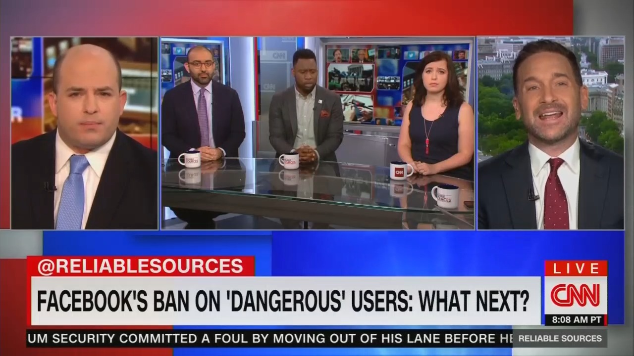 CNN to Facebook and Twitter: Trump is 'Dangerous' Too