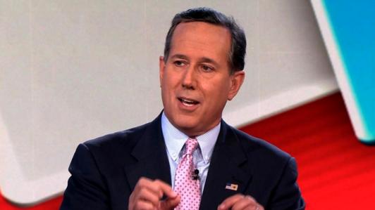 Rick Santorum: I Love Being a 'Responsible,' 'Lone Voice' on CNN