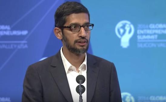 Embattled Google CEO Sundar Pichai to Testify before Congress