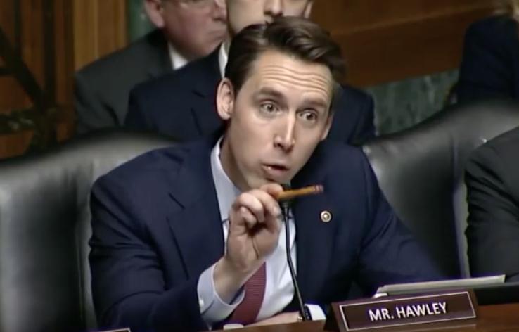 Sen. Hawley: Social Media Companies are 'Parasites'