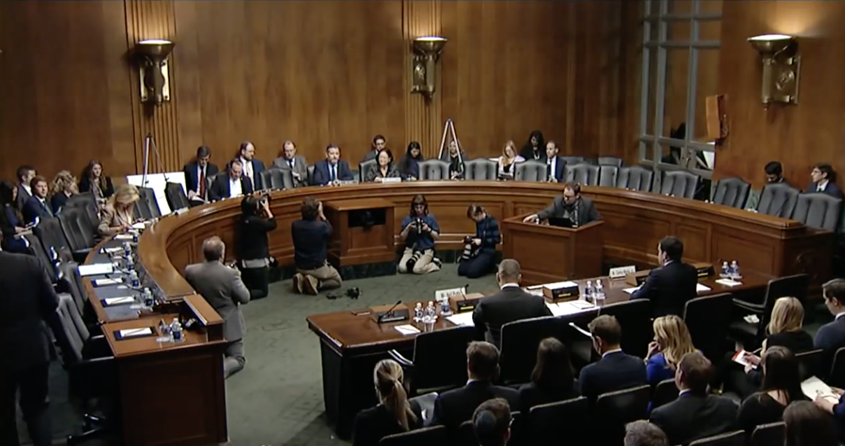 GOP Senators Roast Tech Reps For Denying Lefty Corporate Culture