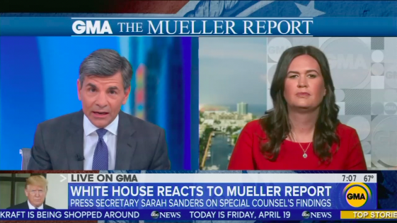 Stephanopoulos Slams Sanders on WH 'Culture of Lying', While Urging Nadler to Impeach Trump