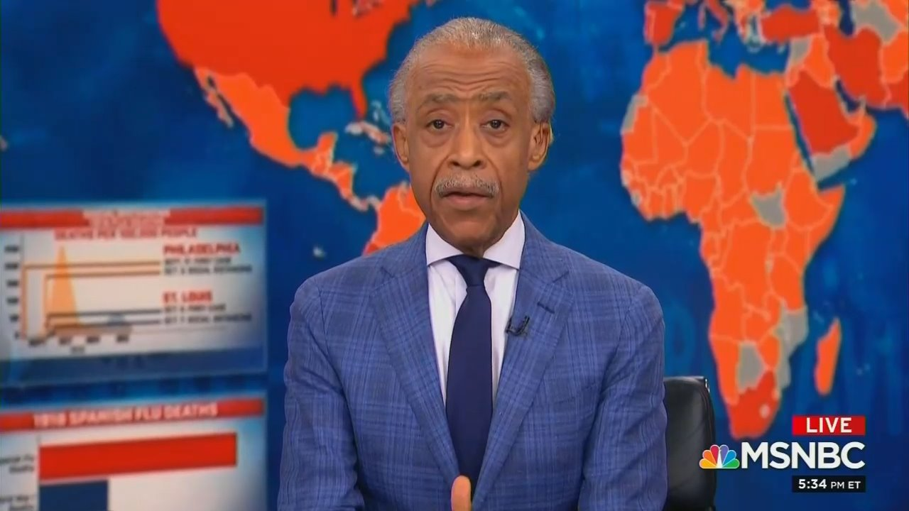 Sharpton Wrongly Claims Trump Never Condmemned Anti-Asian Racism