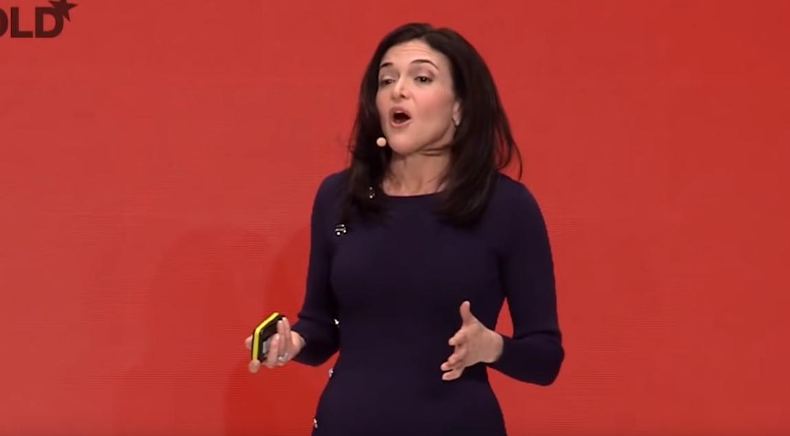 Sheryl Sandberg on Censorship: 'We Don't Want An Internet Where Anything Goes'