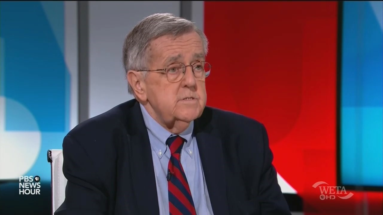 PBS Won't Move On: Mark Shields Calls for 'New 9/11 Commission' to Revisit 2016 Election