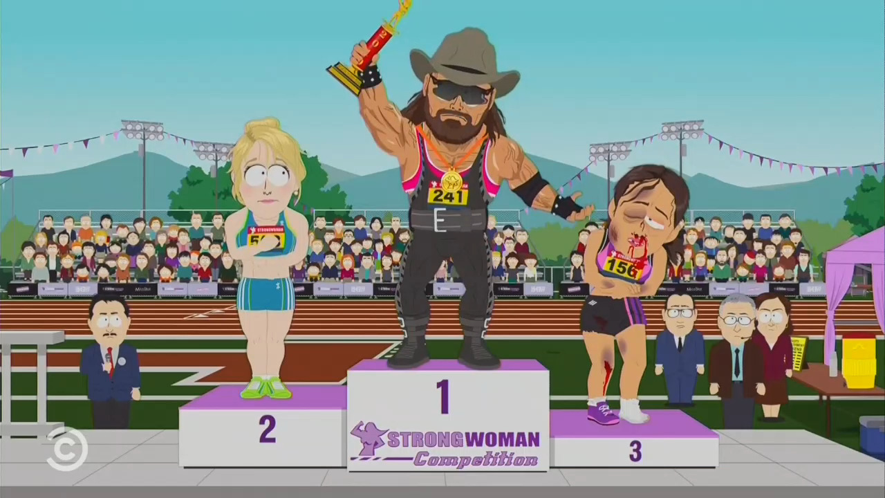 PC Babies: 'South Park' Illustrates Absurdity of Trans Athletes in 'Strong Woman' Competitions