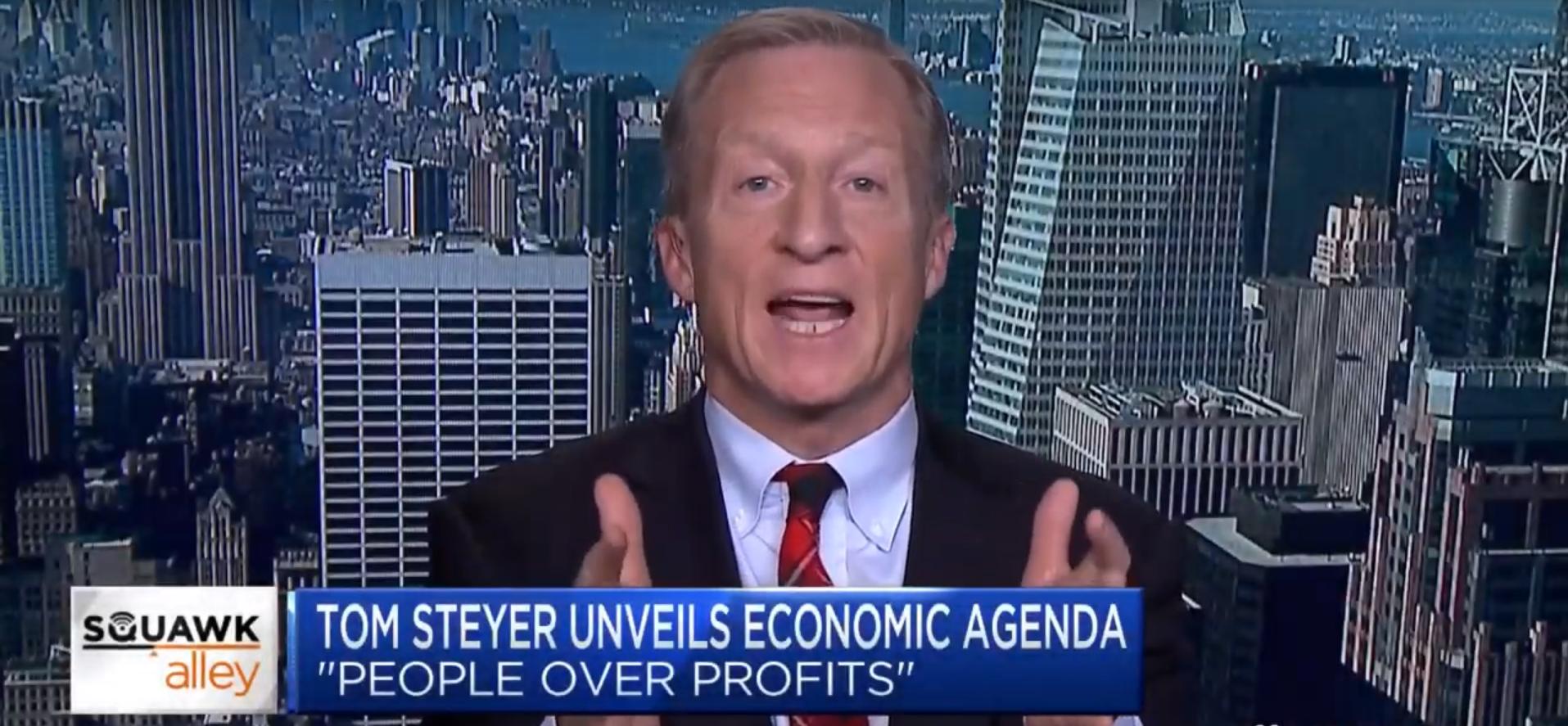 Report: Tom Steyer Spent $47 Million in 84 Days on White House Bid