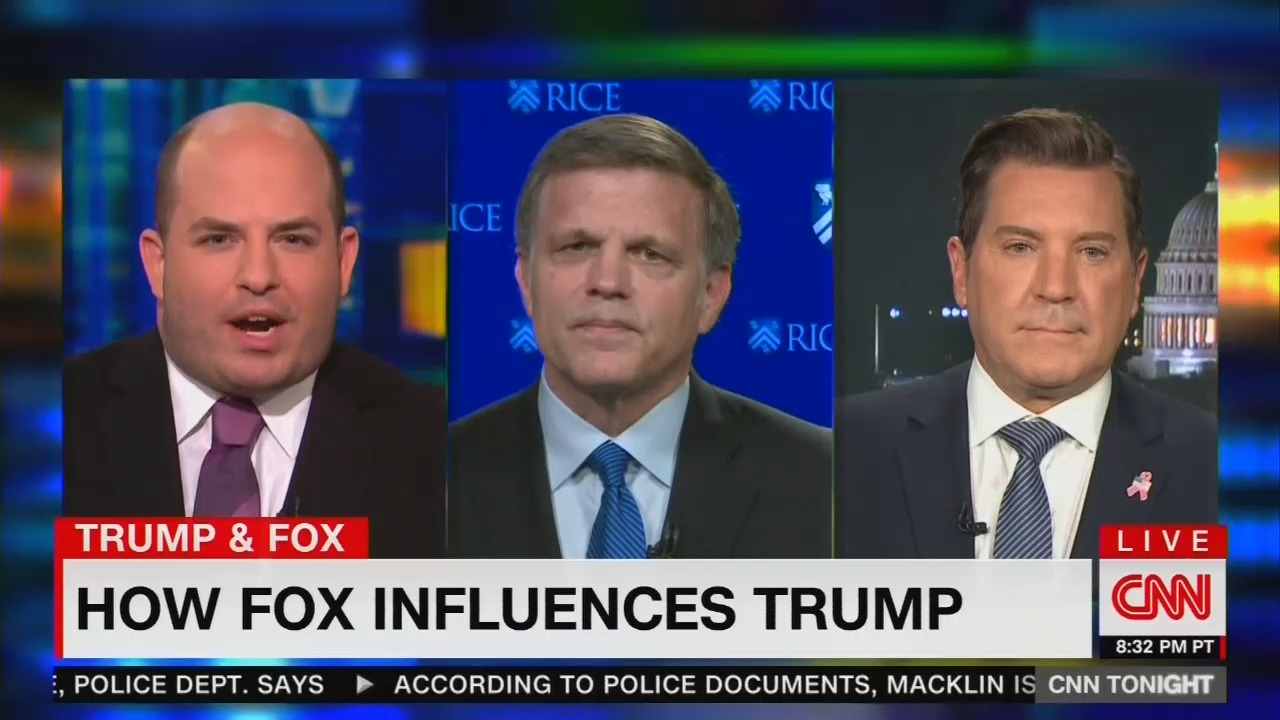 CNN's Stelter: Trump Has Fox's '24/7 Propaganda' That Obama Didn't Have