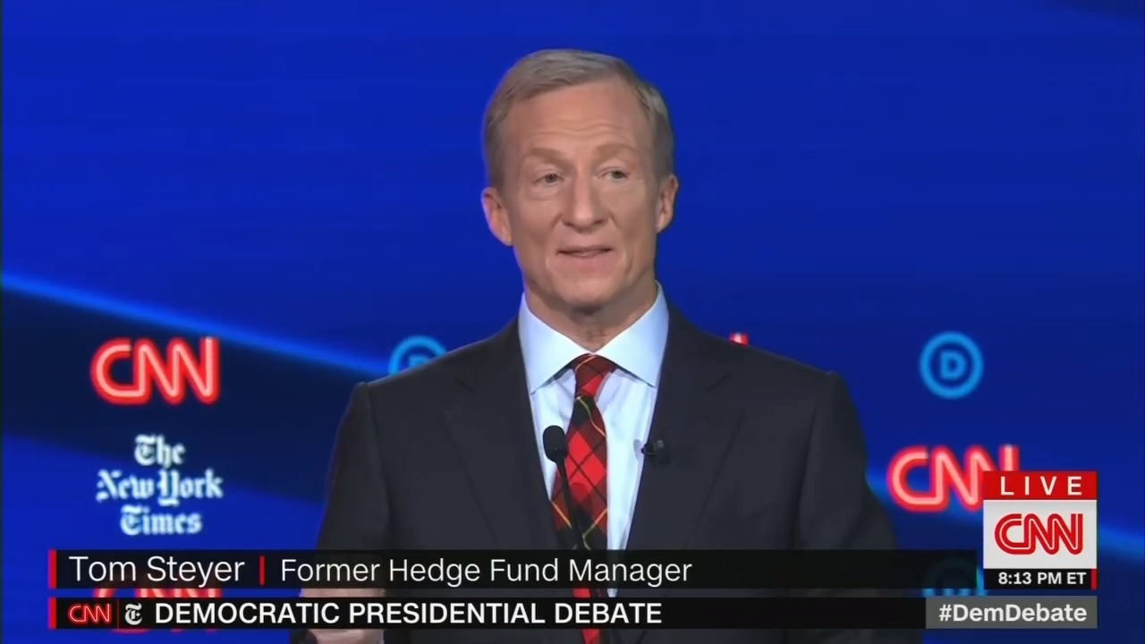 CNN Edits Steyer Graphic From 'Hedge Fund Manger' to 'Businessman'