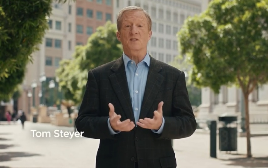 WashPost Blogger Promotes Steyer's 'Brutal' Ad Slamming Weak-on-Impeachment Democrats