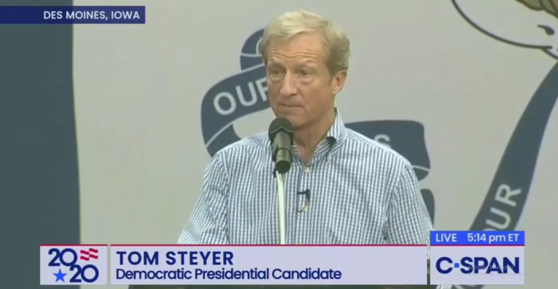 Steyer Compares His Need to Impeach Campaign to Fighting Nazis