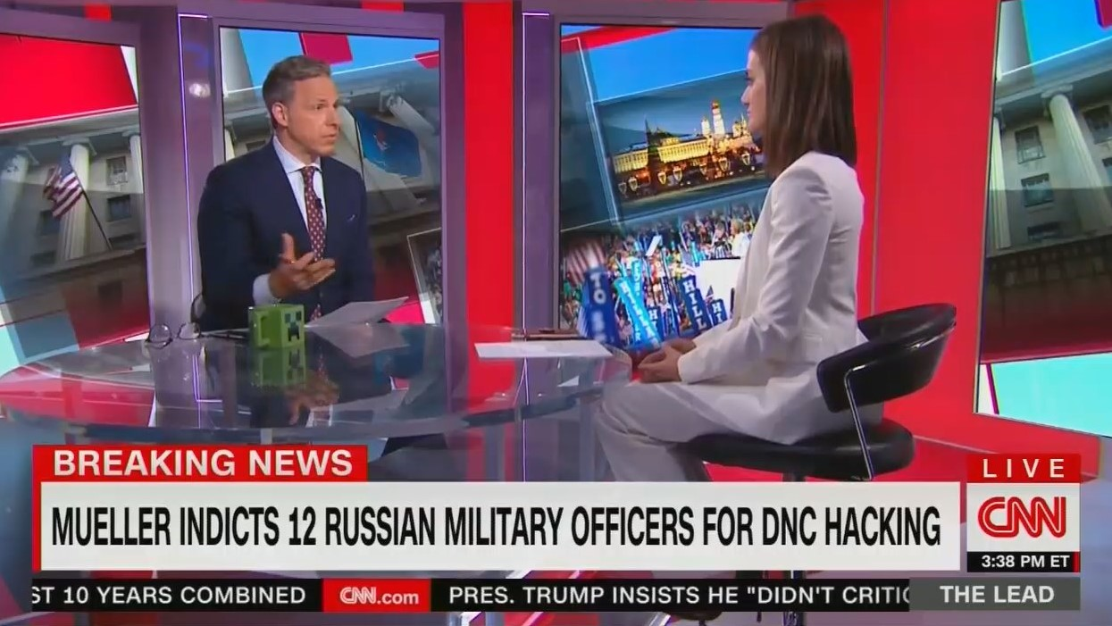 CNN's Tapper Asks Obama Aide: Was Obama 'Asleep at the Switch' on Russian Meddling