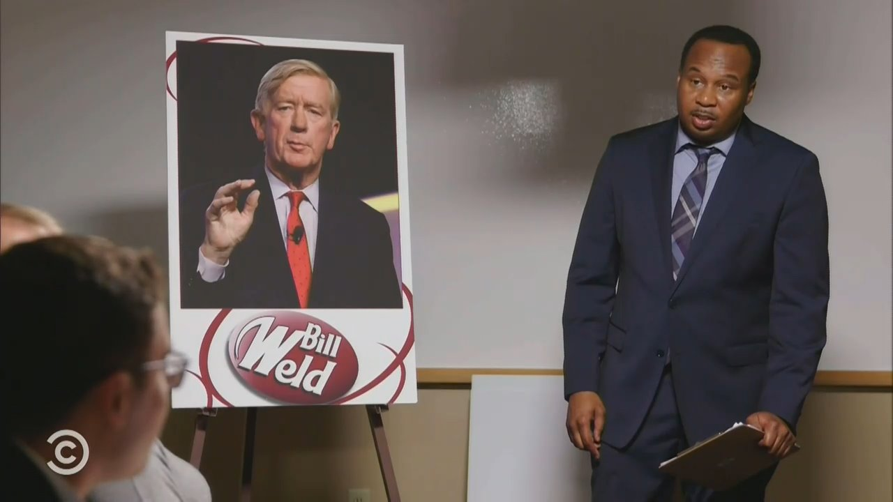 'Daily Show' Correspondent Bummed About Weld's Lack of GOP Support