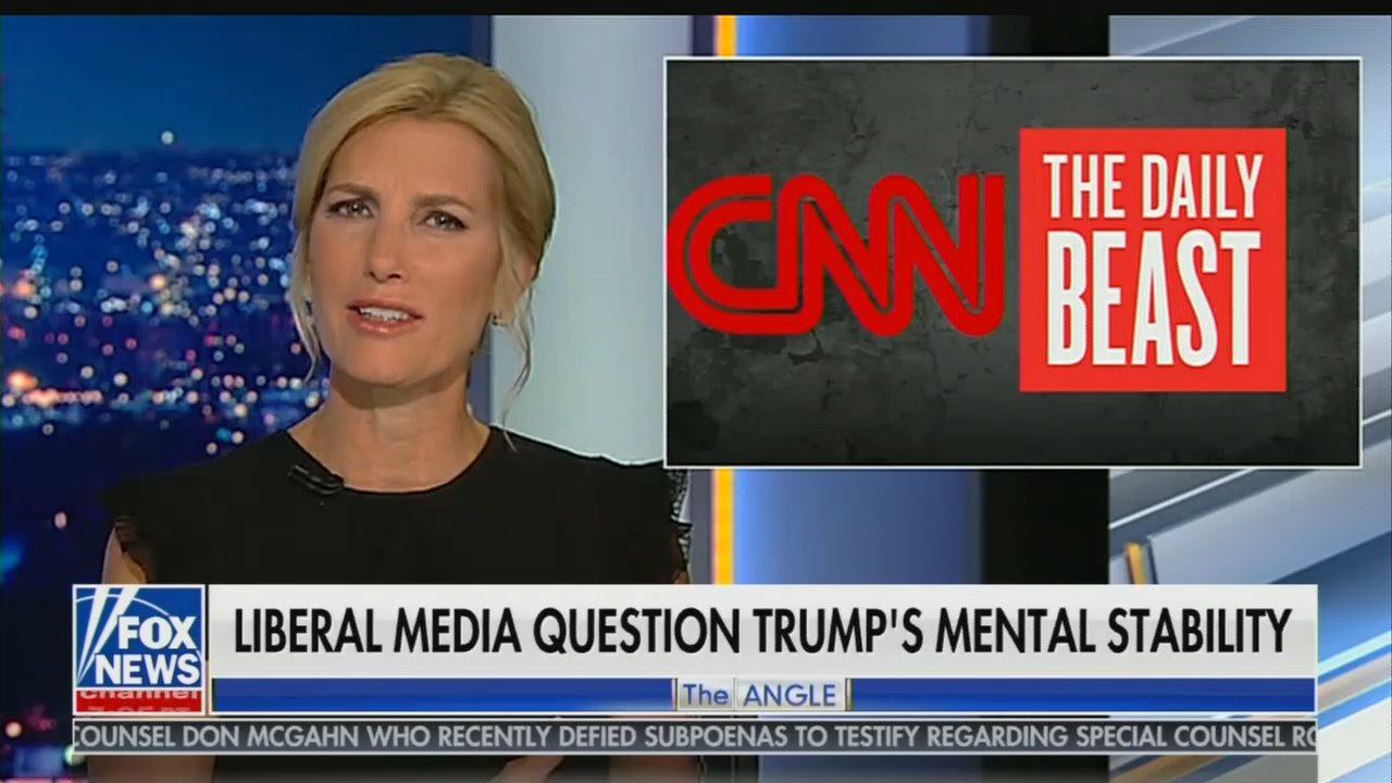 Laura Ingraham Hammers CNN, Daily Beast on Playing Doctor on Trump's Health