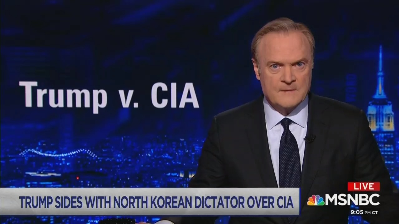 MSNBC's Lawrence O'Donnell accuses President Trump of Treason