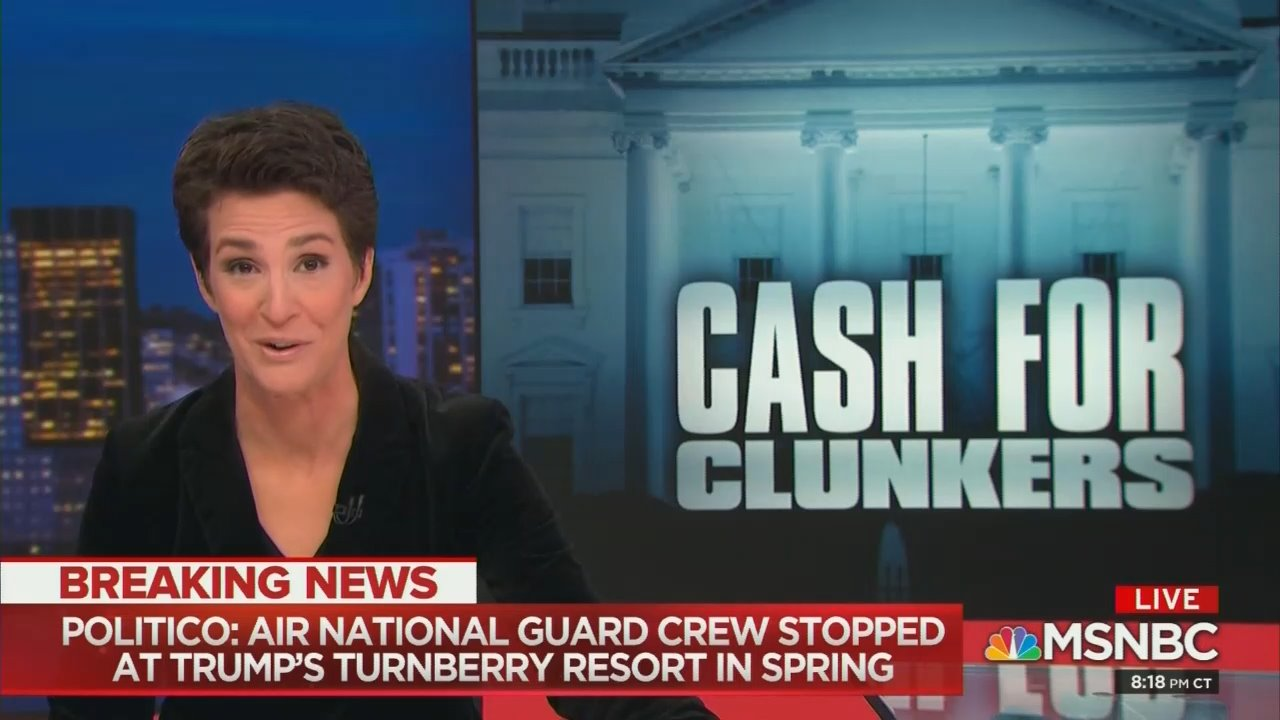 Maddow's Hot Story on Trump-Dealing Military 'Markups' Fell Apart